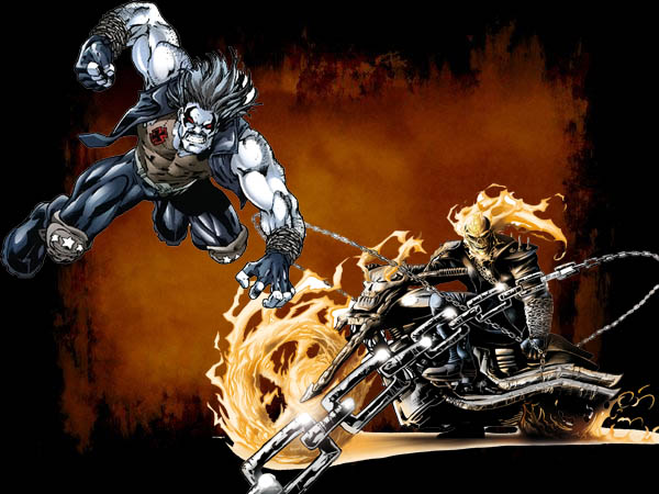 Ghost Rider vs Lobo Fanfic