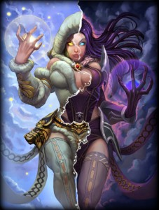 My top 5 SMITE Goddesses