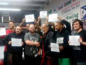 A look at WXW Training