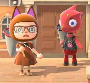 Animal Crossing New Horizons Flick