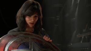 Kamala finds Cap's Shield